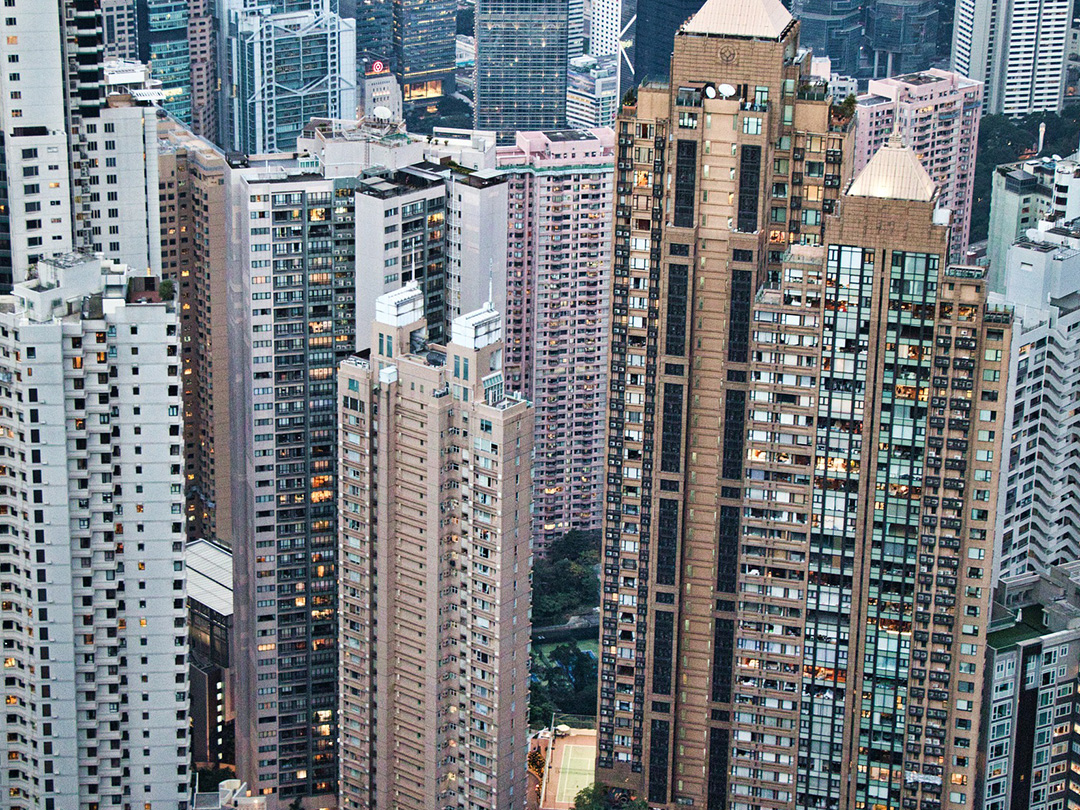 Editorial photo: The actual cost of a dream life in Asia - Hong Kong residential buildings