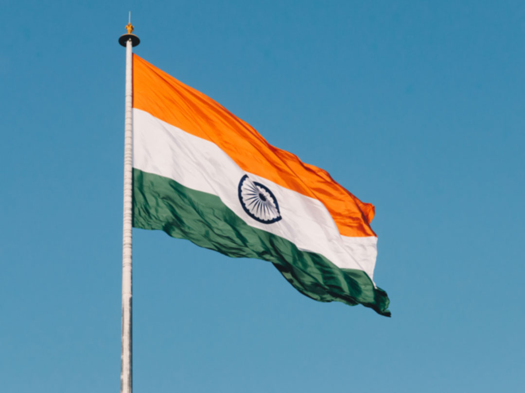 Photo: Indian flag