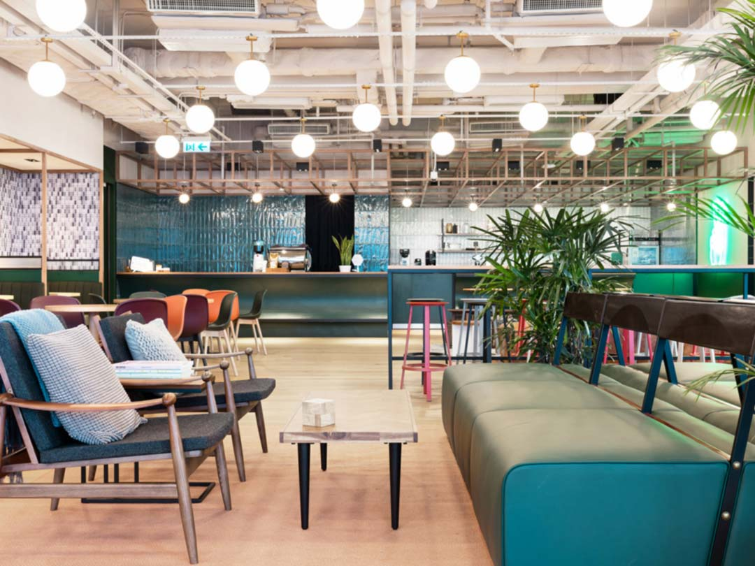 Photo: WeWork co-working space, Hong Kong