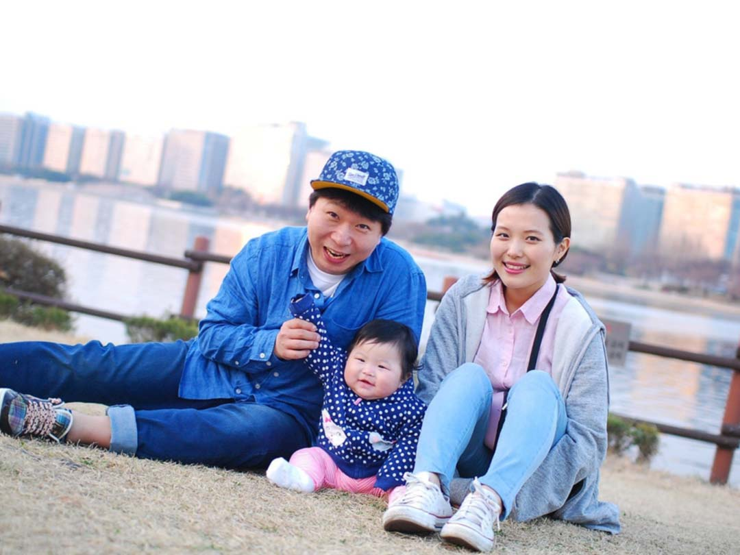 Photo: Young family, Couple with their baby